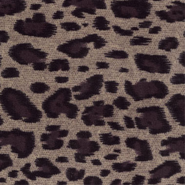 coral fleece print brown animal print