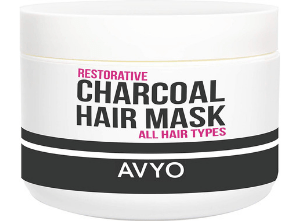 charcoal-hair-mask-avyo.png product photo