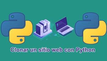 clonar sitio web con Python