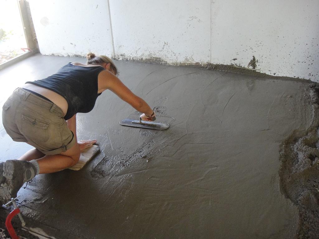install a tile floor