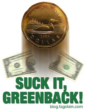 Suck it, Greenback!