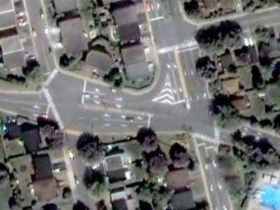 5-way intersection No. 6