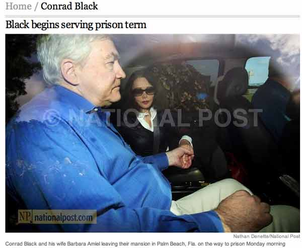 Conrad Black PHOTO BY NATIONAL POST OKAY?