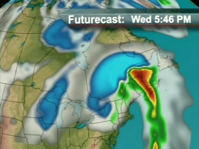 "Global Quebec's ""Futurecast"""