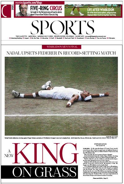 Gazette sports section, Monday, July 7