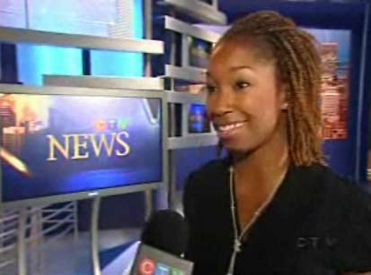 CTV Montreal reporter Maya Johnson: Brown and loving it