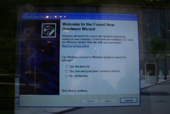 Tourist information runs on Windows