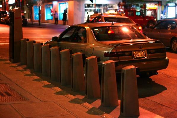 Bixi parking (rear)