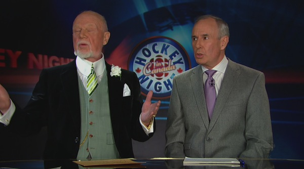 don cherry and ron maclean relationship test