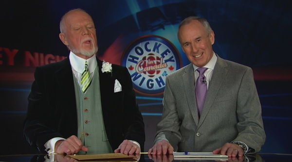 Don Cherry and Ron MacLean 12
