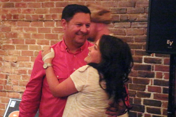 Tony Marinaro and Amanda Stein