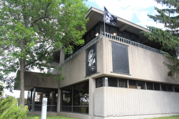 The studios and offices of CJPX 99.5 Montreal, at Jean-Drapeau Park