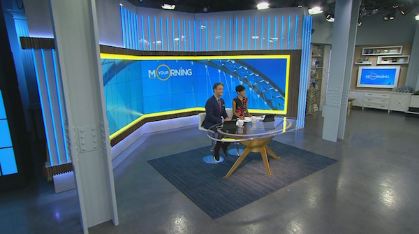 The Your Morning set