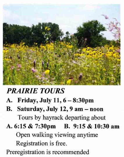 prairie tours