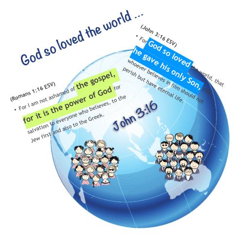 God so loved globe people
