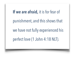 if we are afraid post it