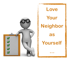 man 3D love neighbor