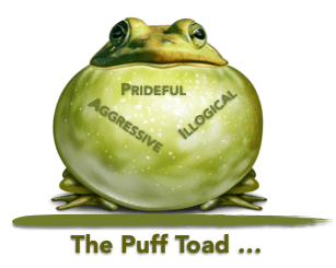 puff toad