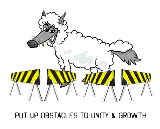 wolf sheep clothes obstacles