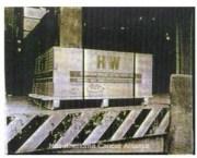 Harbison-Walker Nucon 60 Firebricks, manufactured with asbestos from 1964 to 1980.
