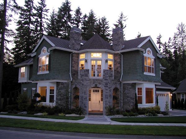 cape cod craftsman house plan - Cape Cod Craftsman