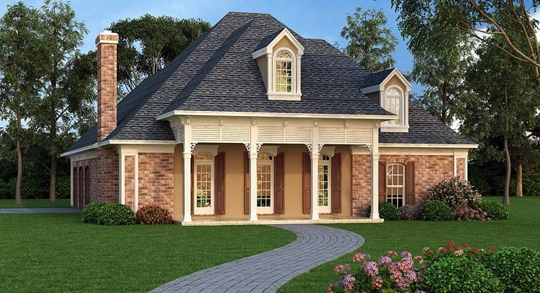 Small Luxury House Plan