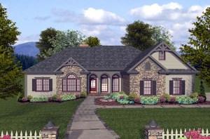 House Plan 74812