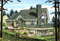 Best-Selling A-Frame House Plans - Family Home Plans Blog