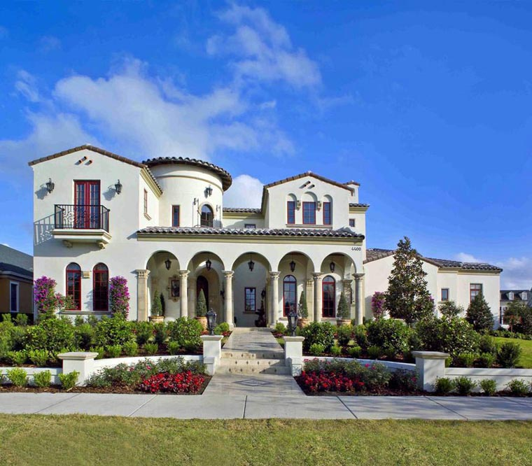 Luxury Home Design: Mediterranean Luxury House Plan