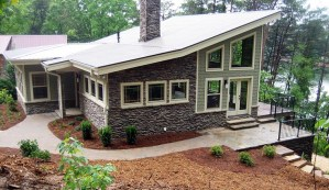 Contemporary Meets Craftsman House Plan