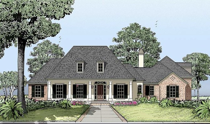New Colonial House Plan