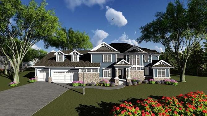 4 Bedroom Luxury House Plans