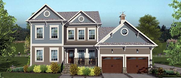 New 4 Bedroom Craftsman House Plan With Octagon Rooms