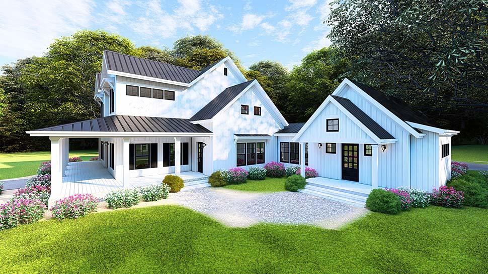 New 4 Bedroom Modern Farmhouse Plan - Family Home Plans Blog