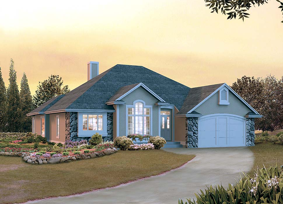 New 3 Bedroom Ranch Home Plans - Family Home Plans Blog