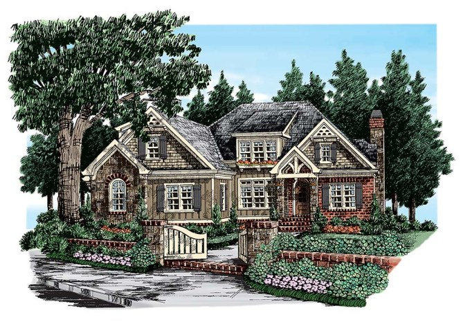 New 4 Bedroom Craftsman Home Plans