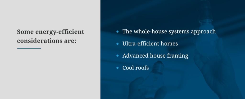 Energy-Efficient Considerations