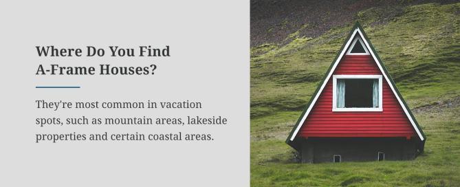 Where Do You Find A-Frame Houses