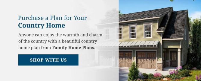 Purchase a Country House Plan