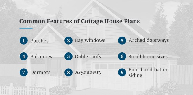 Common Features of Cottage House Plans