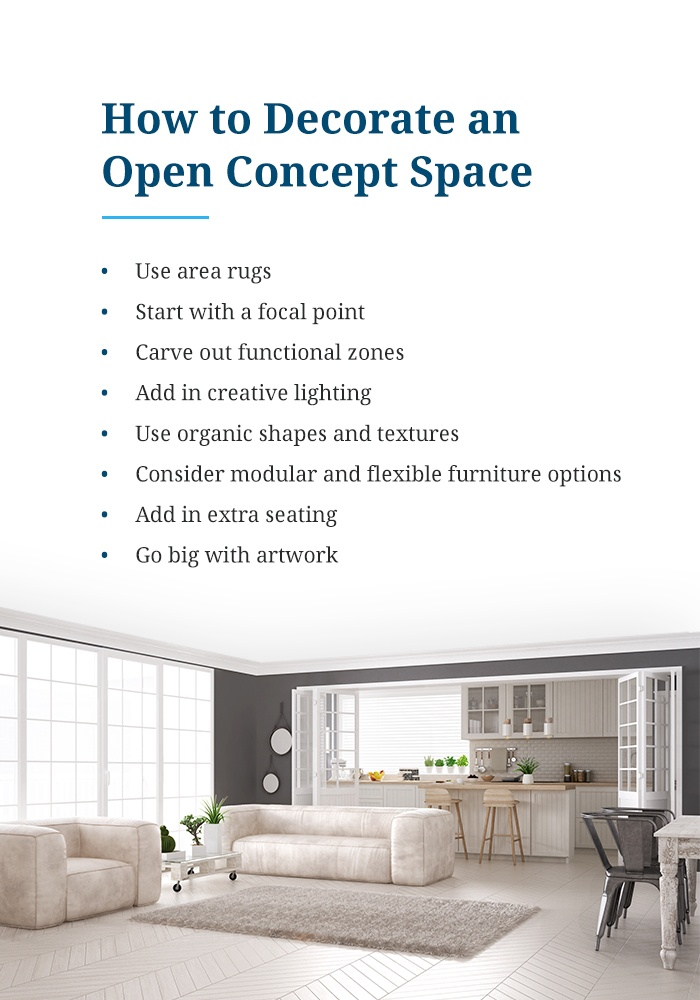 How to Decorate an Open Concept Space