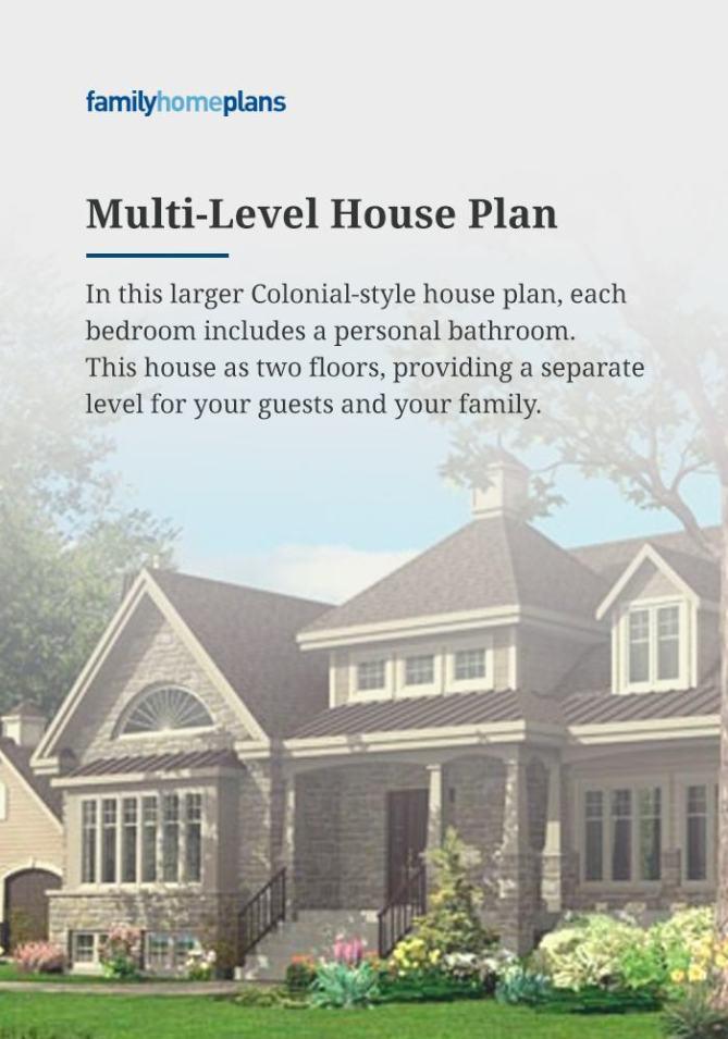 Multi-Level House Plan