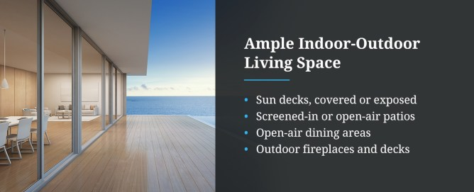 Ample Indoor-Outdoor Living Space