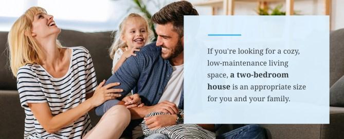 5 Benefits of 2 Bedroom Houses