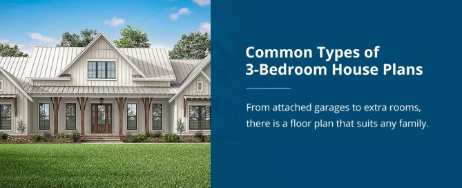 Common Types of 3 Bedroom House Plans