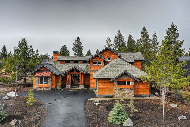 New Mountain Style House Plan With Pictures From New Construction