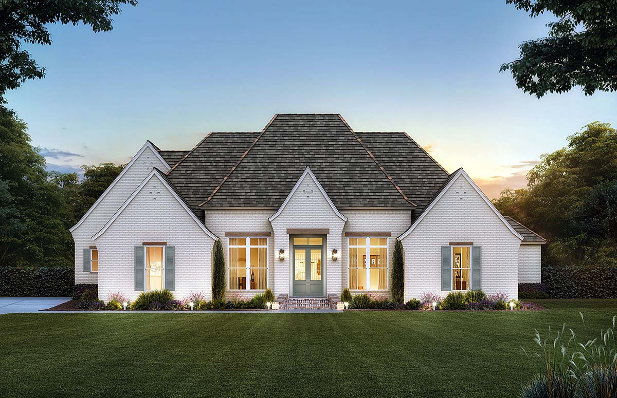 French County House Plan