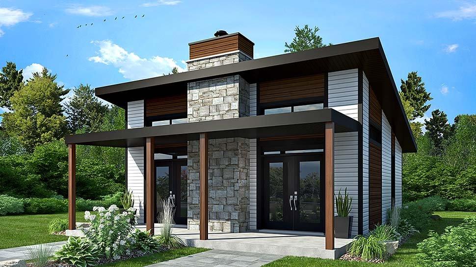 Small Modern House Plan