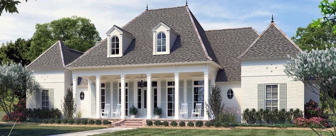 Louisiana Style House Plan