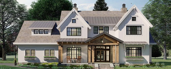 Traditional Style House Plan